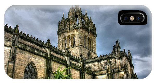St Giles And Tree IPhone Case