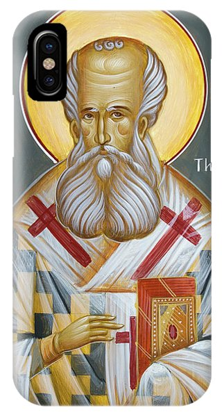 St Gregory The Theologian Phone Case by Julia Bridget Hayes