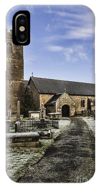 St Gwendolines Church Talgarth 4 IPhone Case