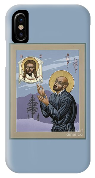 St. Ignatius Amidst Alaska 141 IPhone Case