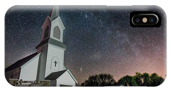 Lutheran iPhone Case - St. Jacob's by Aaron J Groen