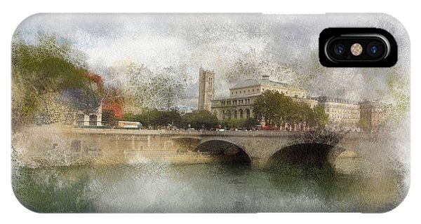 St. Jacques And Sarah Phone Case by Rick Lloyd
