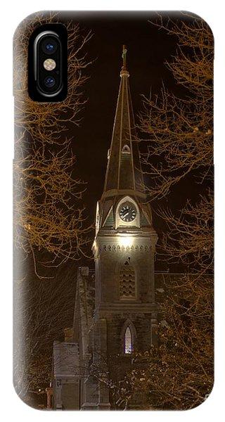 St. James Episcopal Church Steeple IPhone Case