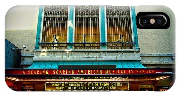 St. James Theatre Balcony IPhone Case
