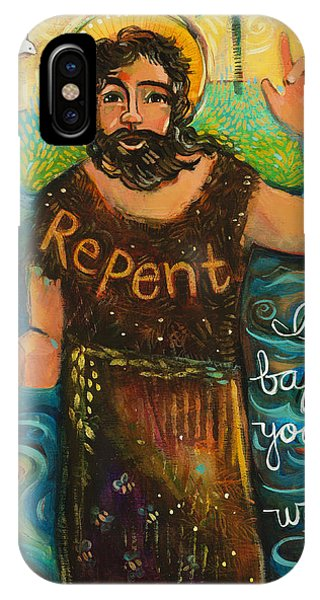 St. John The Baptist IPhone Case