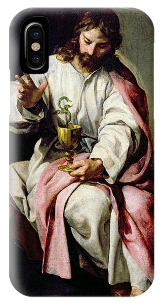 St. John The Evangelist And The Poisoned Cup IPhone Case