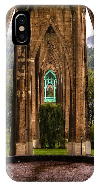 IPhone Case featuring the photograph St. Johns Bridge by Matt Hanson