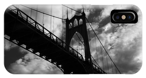 St Johns Bridge IPhone Case