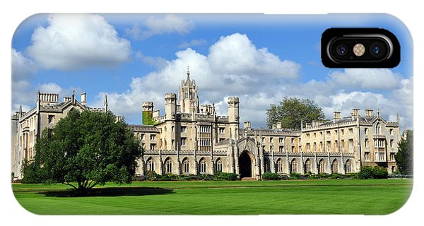 IPhone Case featuring the photograph St. John's College Cambridge by Matthew Chapman