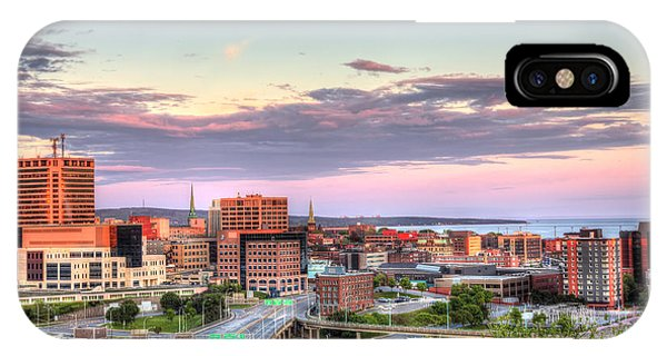 St. John's New Brunswick Sunset Skyline IPhone Case