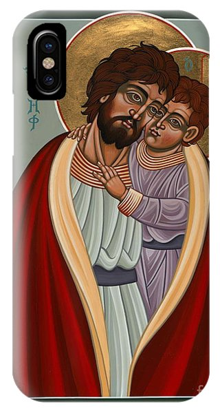 St. Joseph And The Holy Child 239 IPhone Case