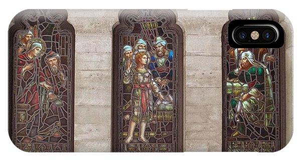 St Josephs Arcade - The Mission Inn IPhone Case