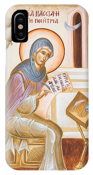 St Kassiani The Hymnographer IPhone Case