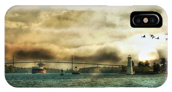 St. Lawrence Seaway IPhone Case