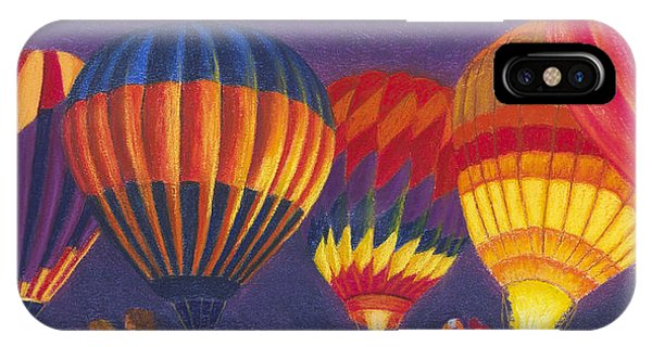 St Louis Balloon Glow IPhone Case