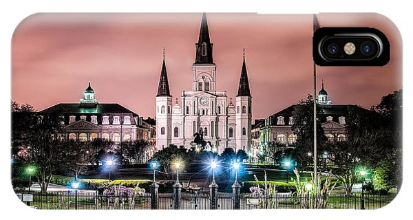St. Louis Cathedral In The Morning IPhone Case