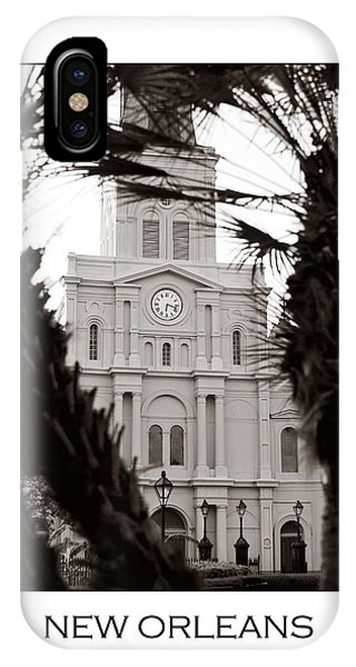 St. Louis Cathedral IPhone Case