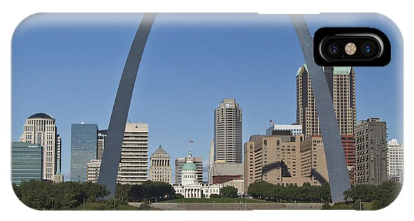 St Louis Skyline IPhone Case