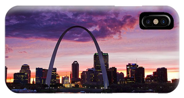 St Louis Sunset IPhone Case