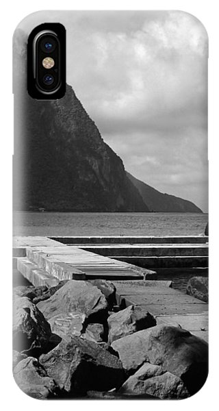St Lucia Petite Piton 5 IPhone Case