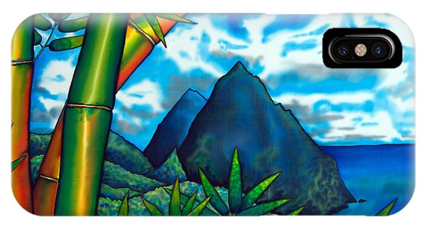 St. Lucia Pitons IPhone Case