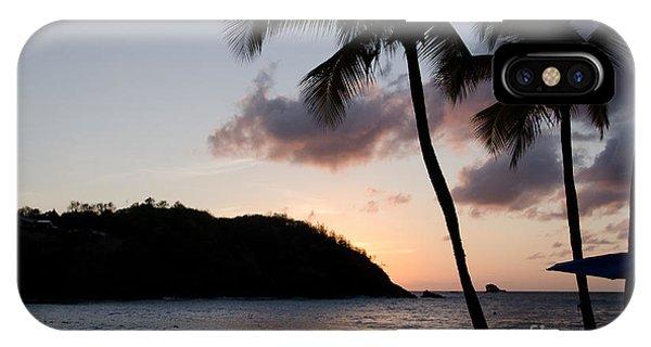 St. Lucian Sunset IPhone Case