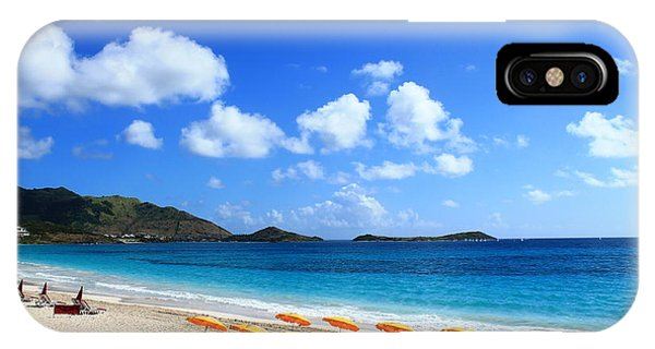 St. Maarten Calm Sea IPhone Case