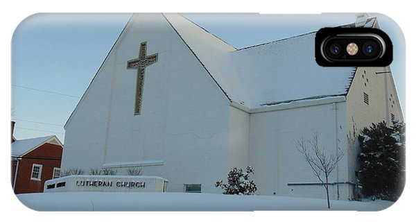 St. Marks Lutheran Church IPhone Case