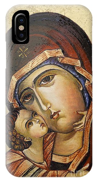 St. Mary And Jessus IPhone Case