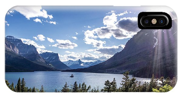 St. Mary Lake IPhone Case