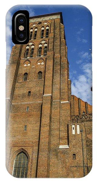 St. Mary's Church In Gdansk Phone Case by Adam Budziarek