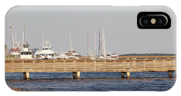 St. Mary's Harbor IPhone Case