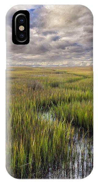 St Mary's Island Georgia IPhone Case