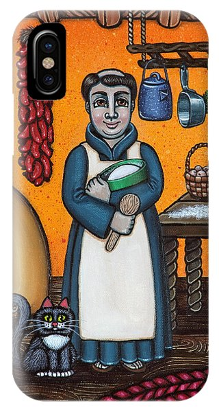 St. Pascual Making Bread IPhone Case