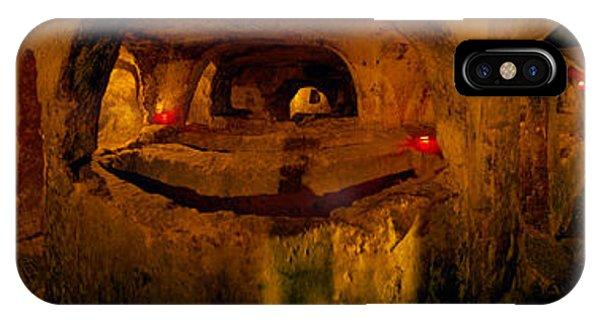 St. Pauls Catacombs, Rabat, Malta IPhone Case