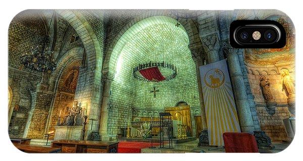 St Pere De Puelles Church - Barcelona IPhone Case