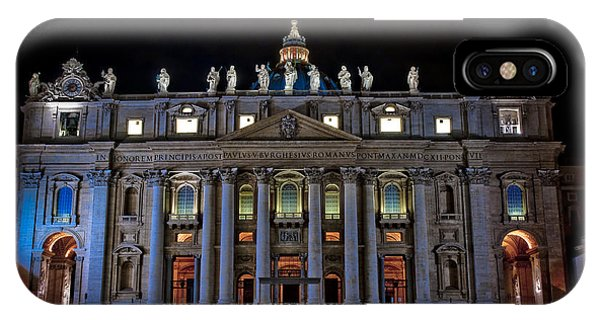 St Peter's At Night IPhone Case