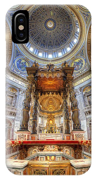 St Peter's Basilica IPhone Case