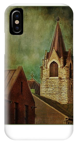 St Peter's By Night Greeting Card IPhone Case