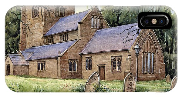 iPhone Case - St. Peters Church Broughton by Anthony Forster