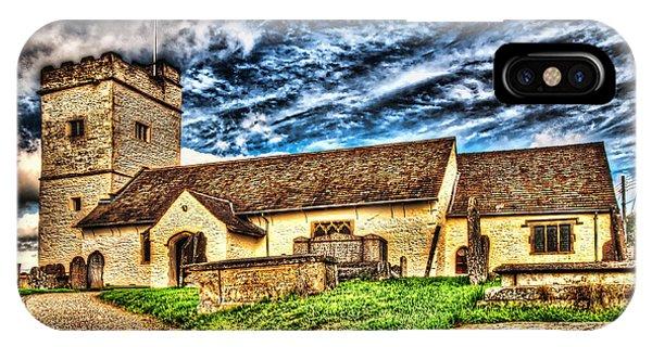 St Sannans Church Bedwellty IPhone Case