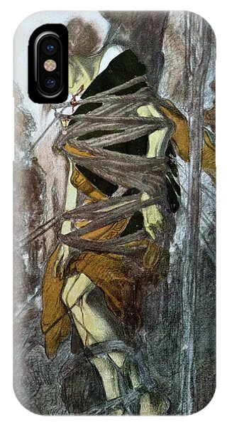 Dance iPhone Case - St. Sebastian, From The Martyr Of St by Leon Bakst