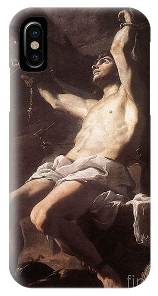 St Sebastian IPhone Case