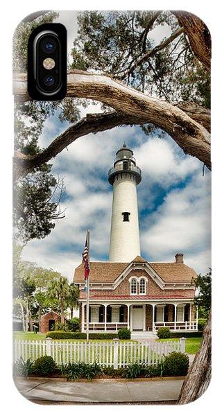 St. Simons Island Lighthouse  IPhone Case