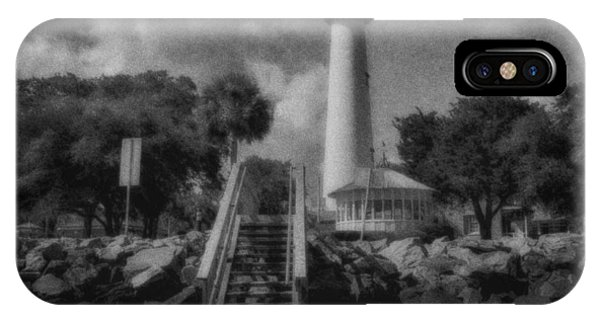 St. Simon's Lighthouse 3 IPhone Case