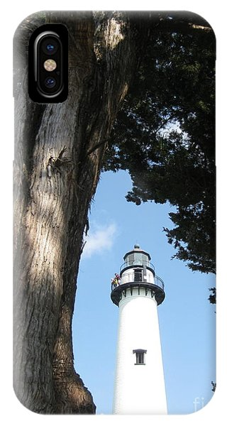St. Simon's Lighthouse IPhone Case
