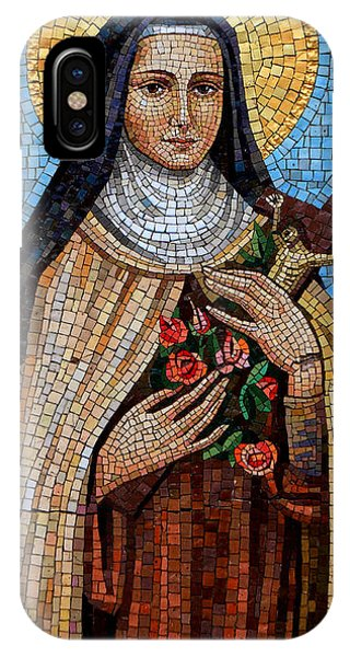 St. Theresa Mosaic IPhone Case