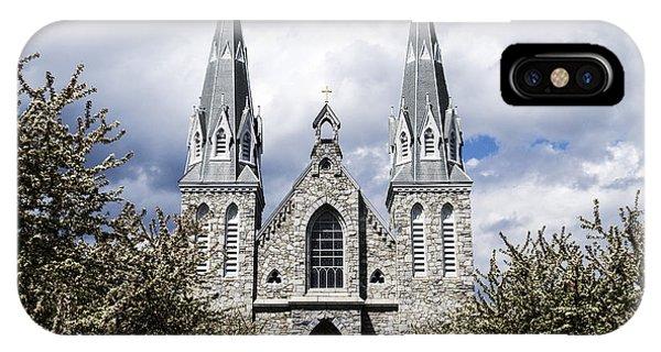 St. Thomas Of Villanova 2 IPhone Case