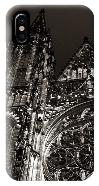 IPhone Case featuring the photograph St. Vitus Facade by Michael Kirk