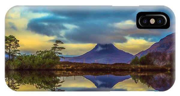 Stac Polly In The Scottish Highlands Phone Case by Tylie Duff